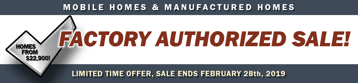 Sale Ends Thursday, February 28th, 2019